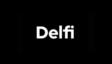 Delfi logotipas